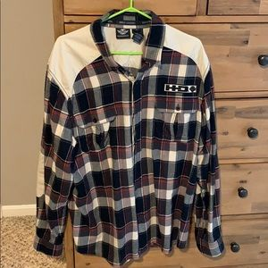 Harley-Davidson Shirts - Men's XL Harley Davidson flannel button up